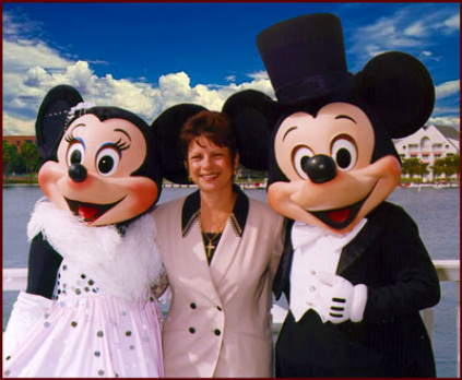 A former Walt Disney World officiant, Rev. Sherry makes weddings magical